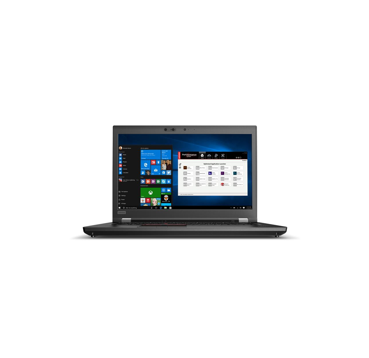 Laptop Lenovo ThinkPad P72 17.3 20MB002UPB