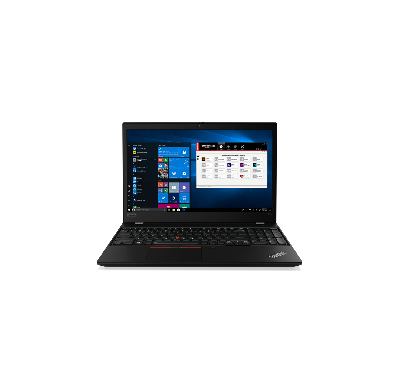 Laptop Lenovo ThinkPad P53s 15. 20N60016PB